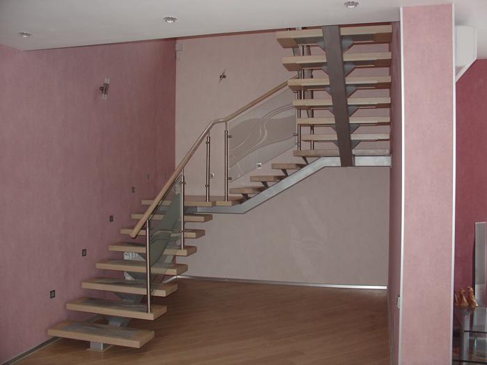 Лестница прямая своими руками
